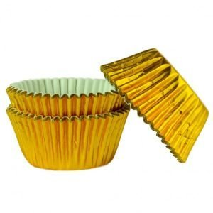 uweigh gold foil baking cases