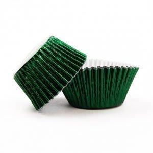 uweigh green foil baking cases
