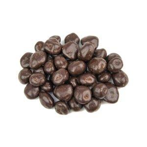 uweigh plain chocolate coated raisins