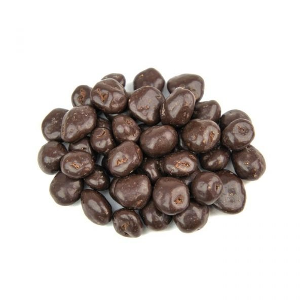 uweigh plain chocolate coated raisins