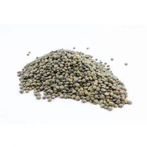 uweigh puy type dark green speckled lentils