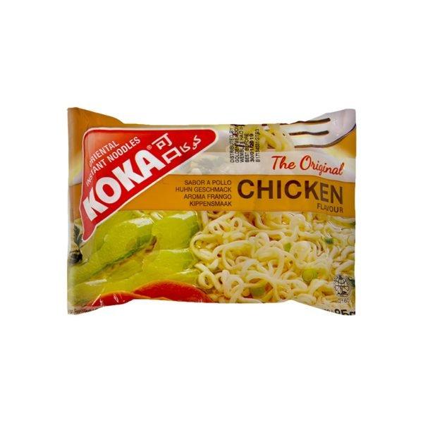 uweigh koka instant chicken noodles