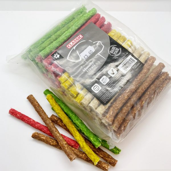 uweigh munchy roll treats mixed colours