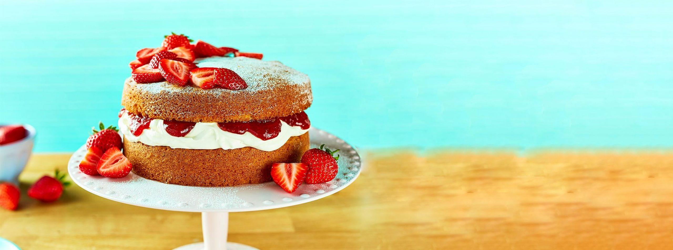 sponge cake mix